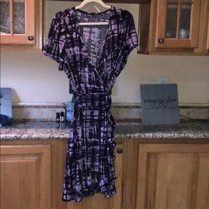 2x wrap dress apt9
